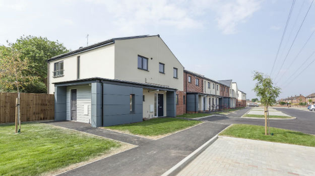 New council housing in Colchester