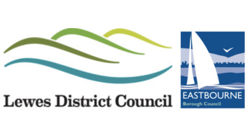 Lewes District and Eastbourne Borough Councils logo
