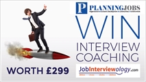 Win a career coaching package worth £299 to help you ace your planning job interview