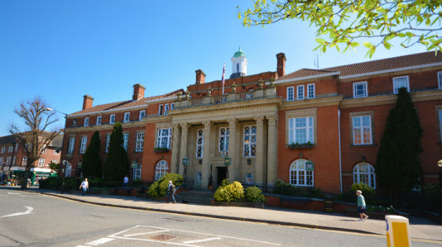 Nuneaton and Bedworth town hall